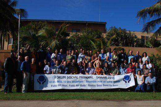 Délégation CCFD-Terre Solidaire au FSM Dakar, Joseph Torrens, 11 février 2011